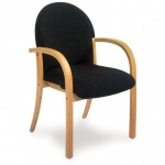 Advanced 407 Wooden Visitor Armchair