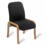 Advanced 408 Wooden Lounge Chair