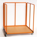 Heavy-Duty Jigsaw Mat Trolley