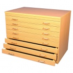 A1 Paper Storage (8 Drawers)