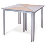 Advanced Chunky Triangular School Table + PU Edge