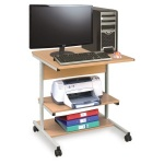 Small Mobile Computer Workstation