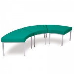 Advanced Curved Stool Lounge System