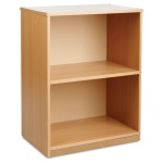 Open Narrow Storage Unit with Adjustable Shelf