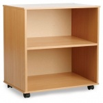 Open Storage Unit with Adjustable Shelf