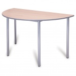 Advanced Chunky Half-Round School Table