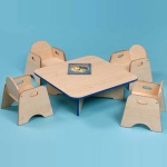 Denby Classroom - Children's Square Table
