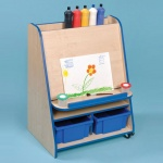 Denby Classroom - Mobile Paint Easel Unit