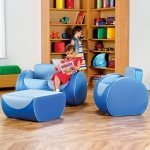 Deco™ Children's Lounge Furniture - Blue / Blue