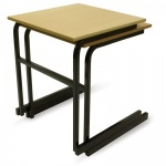 Advanced Heavy-Duty Cantilever Exam Desk