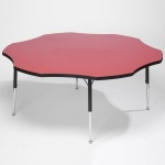 Tuf-Top™ Height Adjustable Flower Table - Red