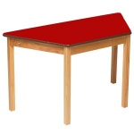 Tuf Class™ Trapezoidal Table - Red