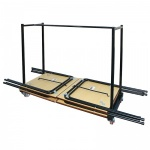 zlite® Horizontal 40 Desk Storage Trolley