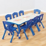 Siena Children's Rectangular Table 150 x 60cm