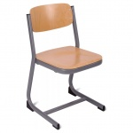 Form™ Cantilever Wooden Classroom Chair