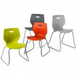GEO Skid-Base School Chair