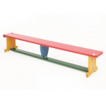 ActivBench Multicoloured Wooden Gym Bench