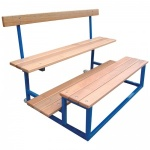 Sports Seating Two Tier Wheelaway Unit