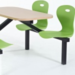 Origin Lotus School Canteen Fast-Food Furniture