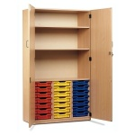 21 Shallow Tray Cupboard