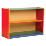 MEQ600BCCOL Bookcase with 1 Adjustable Shelf