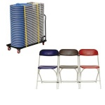 Classic Folding Chair + Trolley Bundle
