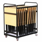 20 Folding Exam Desk Trolley
