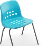 Pepperpot School Dining Chair