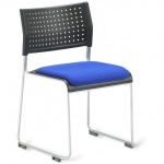 Public Stacking Conference Chair + Seat Pad