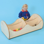 ''Mini'' 4 Compartment Children's Wooden Storage