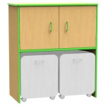 ''The Edge'' Storage Cupboard + Docking Unit