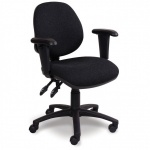 Advanced Mid-Back Office Chair + Adjustable Armrests
