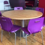 Advanced Round Diner Table