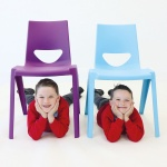 EN1 One-Piece School Chair