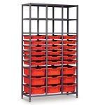 Tall 3 Bay Science Storage - Multi-Tray (A)