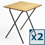 Titan MDF Folding Exam Desk (Pack of 2)