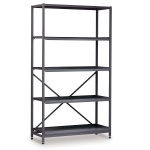 Tall 3 Bay Science Storage System - 4 Shelves