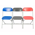 zlite® Straight Back Folding Chair