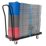 zlite® Flatbed Chair Storage Trolley