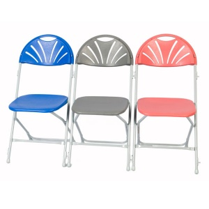 zlite® Fan Back (Linking) Folding Chair