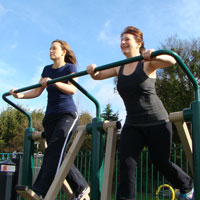 Higher Education Outdoor Gym Equipment