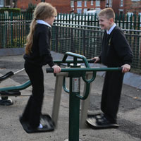 Children's Outdoor Gym Equipment