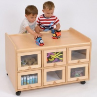 Stock Double Sided Storage Units
