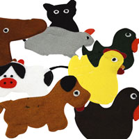 Classroom Finger Puppets Sets
