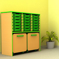 The Edge Classroom Storage System