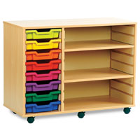 Tray Shelving Units