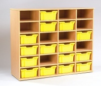 Yorkshire Heavy-Duty School Tray Storage