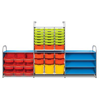 Callero School Trays & Trolleys Storage System