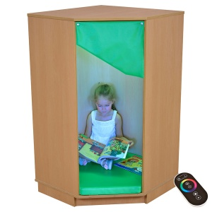 Children's LED Corner Cabinet
