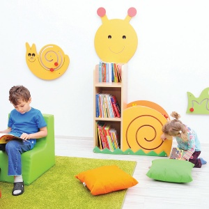Children's Snail Cabinet / Bookcase